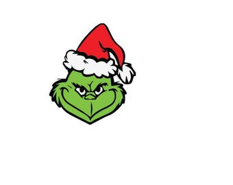 grinch svg file etsy mr grinch clipart the grinch christmas clipart