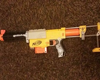 Modified NERF Recon spring stock