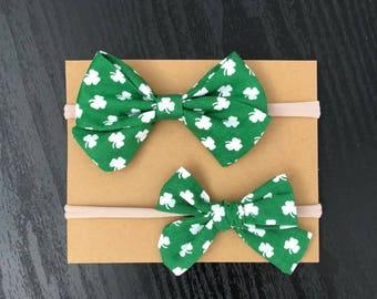 St. Patricks Day Bow