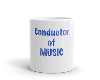 Conductor of Music Spartees Mug