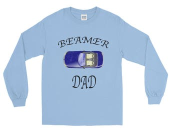 Beamer Dad distressed Unisex Spartees Long Sleeve T-Shirt