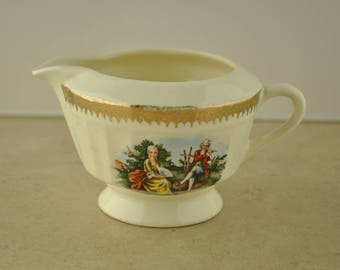 Colonial China Ceramic Creamer Dish