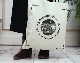HAUNTED HOUSE / Totebag
