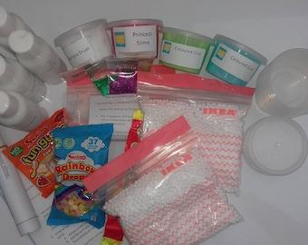 Make Your Own Slime Kit - Large - Slime Kit / UK Slime Kit / Classic Slime / Fluffy Slime / Glitter Slime / Large slime kit