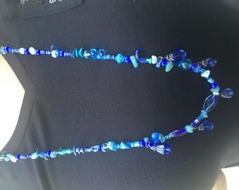 "32"" beaded necklace"