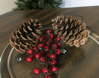"Large Ponderosa Pinecones | For use in Wreaths or Wedding Decor or Rustic Decor and Crafts |  4""-5"" 