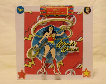 Wonder Woman card