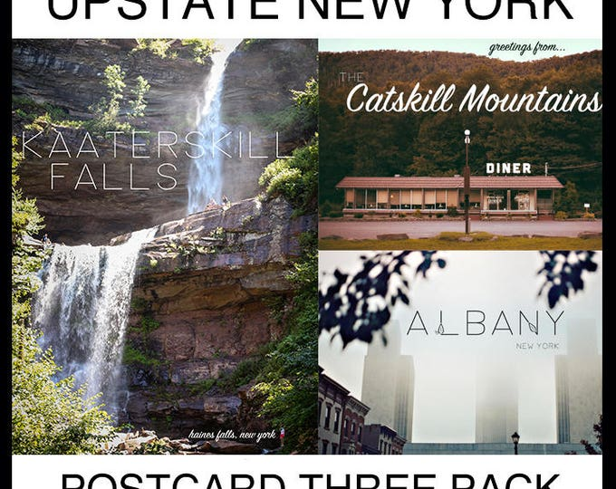 3-PACK! Upstate NY Postcards