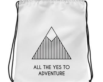 adventure bag, whtie bag, mountain bag