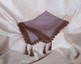 "Handkerchief ""Coquette"" gift"