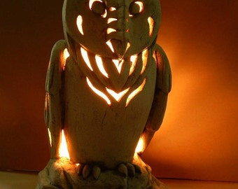 Owl night Light / Children's Lamp / Children's Light Light / Garden Lamp /Garden decor/ Home decor