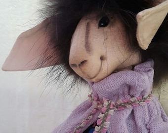 Art doll sheep