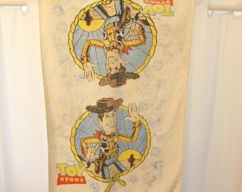 Vintage 1994 Toy Story Towel - One Size