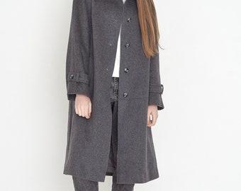 VINTAGE Grey MEERWYN Retro Coat