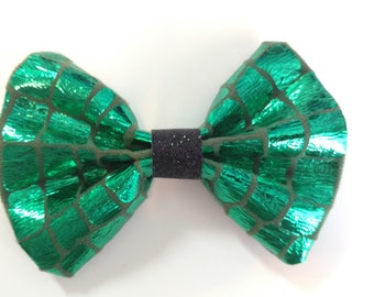 Dragon Scale Cloth Hairbow
