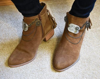 Festival/Western Ankle Boots