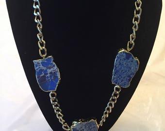Aquaterra Jasper necklace