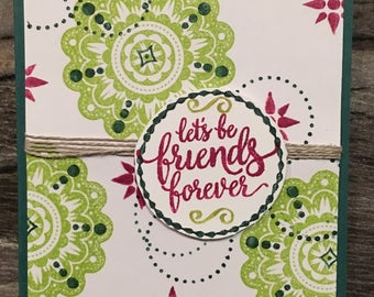 Friends Forever | Handmade Cards | Everyday cards