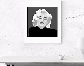 Marilyn Monroe - The Blonde Bombshell
