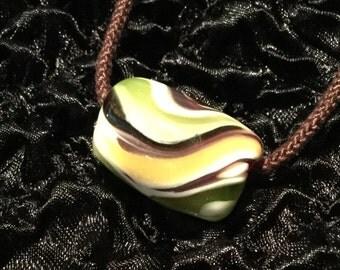 Necklace//Japanese Style//Christmas Gifts for her! > Kimyo Takahama Designed Glass Jewelry [Necklace Ishigakian]
