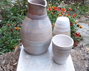 Red Ceramic Jug