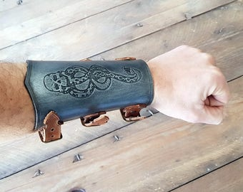 Harry Potter Death Eater Vambrace, Show your Dark Mark for Voldemort pride and Aurors doom.
