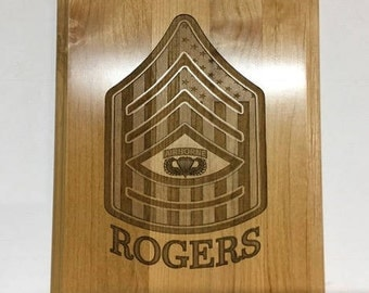8x10 Laser Engraved Plaque