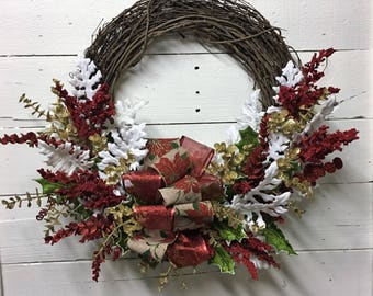Christmas Wreath Holiday