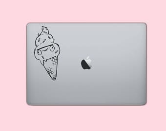 derpy ice cream cone vinyl decal sticker