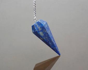 Pendulum Crystal Lapis Lazuli pendulum Quartz pendulum Dowsing pendulum Gemstone pendulum Divination Chakra pendulum
