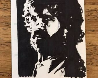 Tyrion Lannister Sketch Card