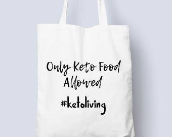 Keto - Ketolife - Ketogenic diet - Tote Bag - Keto family - Ketones - Low carb High Fat - Ketosis diet - Ketodiet - Low carb - Original tote