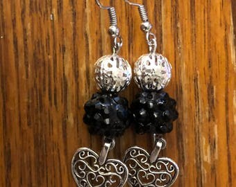Heart Wired Dangle Earrings