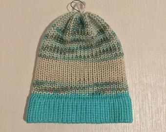 Knit Alpaca Hat handmade