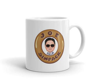 Heaven/ Hell Coffee Mug Brown