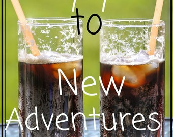 Say Yes to New Adventures Printable Artwork 8 1/2 x 11