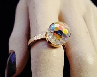 Crystal Vintage Ring
