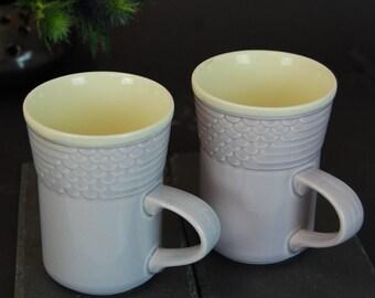 Vintage Art Nouveau Art Nouveau 2 cups Churchill England production