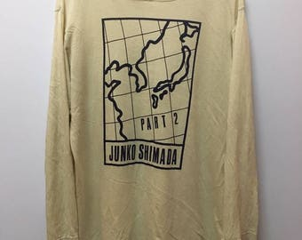 Vintage Junko Shimada Part 2 Big logo Sweater Sweatshirt Hoodie