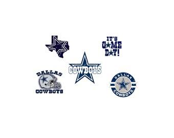 Dallas Cowboys Transparent PNG Digital File  Stencil Vector Cut File Cricut Tshirt Decal Iron on Silhouette Cameo Superhero P Vinyl Heat