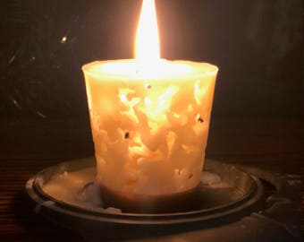 Beeswax Lace Candle