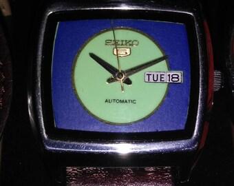 Retro Automatic Seiko Watch