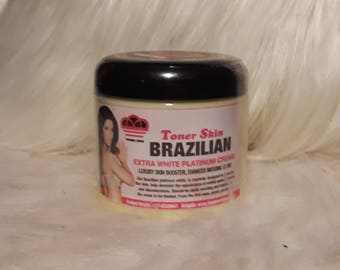 Brazilian white platinum cream