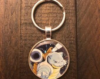 Blastoise Pokemon Keychain