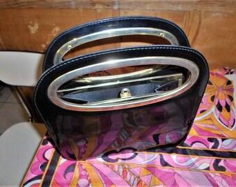 70's vinyl handbag