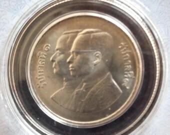 Thailand 5 Baht, 1982,commemorative coins Rattanakosin 200 years