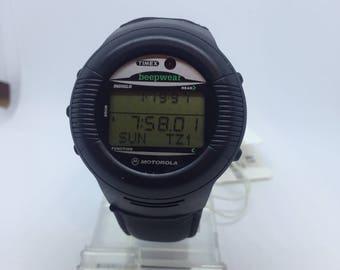 Vintage Timex Beepwear Smart pager Watch