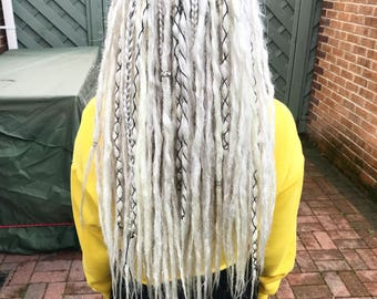 Synthetic Double Ended Dreadlock Extensions
