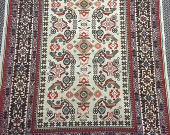 Handmade SILK&WOOL Persian Rug
