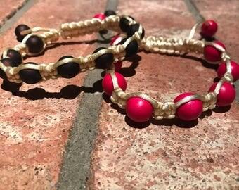 Shamballa Macrame Bracelet